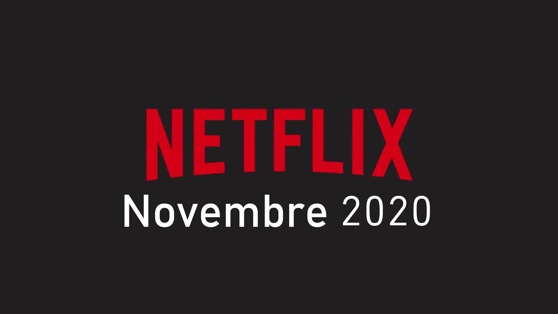 Netflix novembre 2020