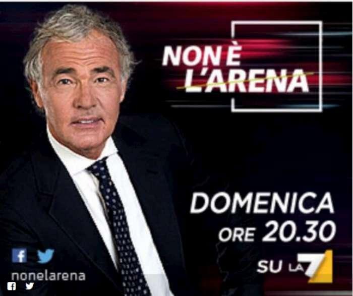 Non è L'Arena 22 novembre Massimo Giletti