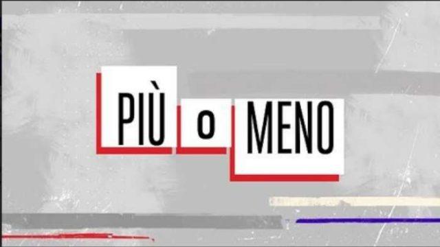 Più o meno Rai 2 Logo