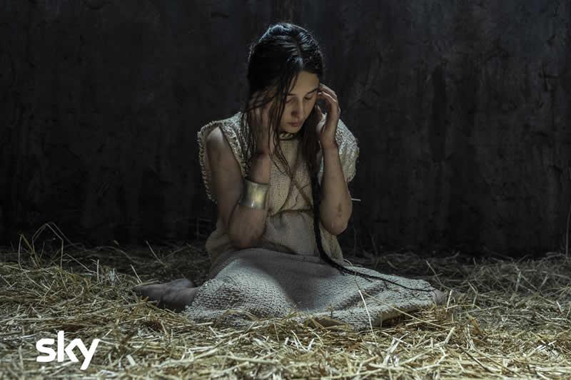 Romulus cast Ilia Marianna Fontana