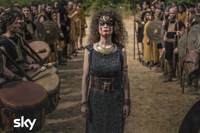 Romulus cast Silvia Vanessa Scalera