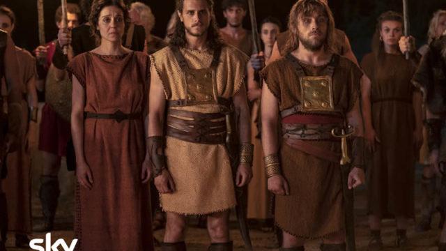 Romulus serie tv Sky Il cast