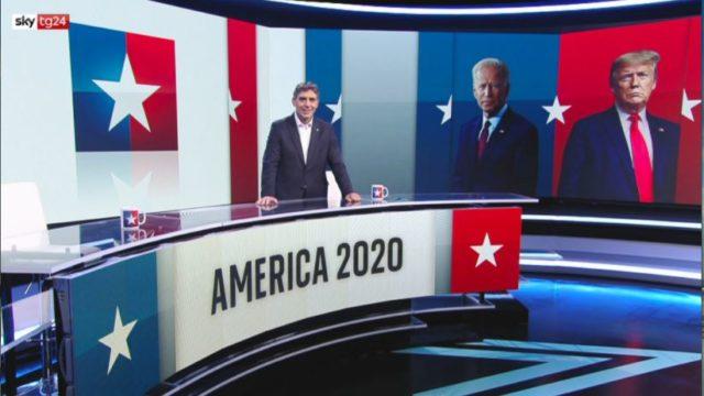 Elezioni USA 2020 in tv, lo Speciale di Sky Tg24