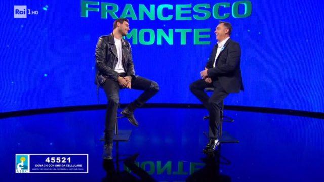 Tale e Quale Show 6 diretta novembre, Francesco Monte imita Raf