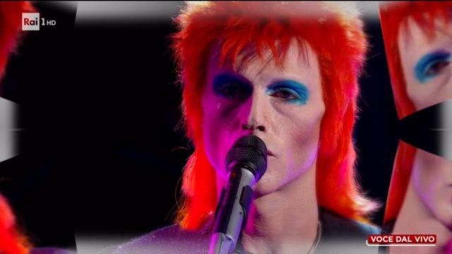 Tale e Quale Show diretta 6 novembre, Sergio Muniz imita David Bowie