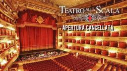 Teatro alla Scala 2020 apertura cancellata