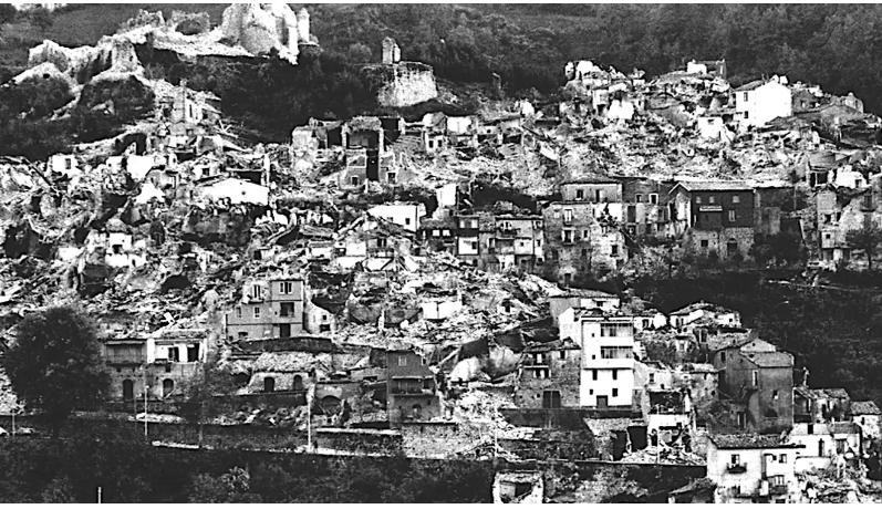 Terremoto Irpinia 1980 Rai