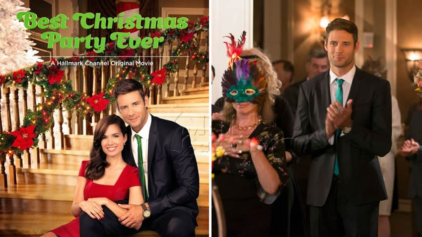 Una festa di Natale da sogno film Tv8