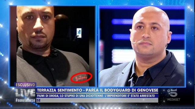 caso alberto genovese bodyguard