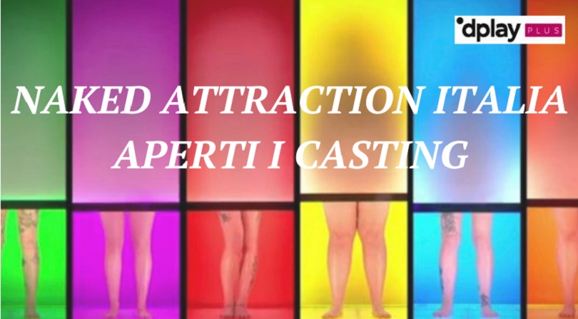 naked attraction italia casting copertina