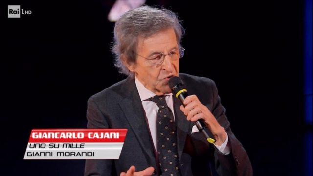 the voice senior diretta 27 novembre giancarlo