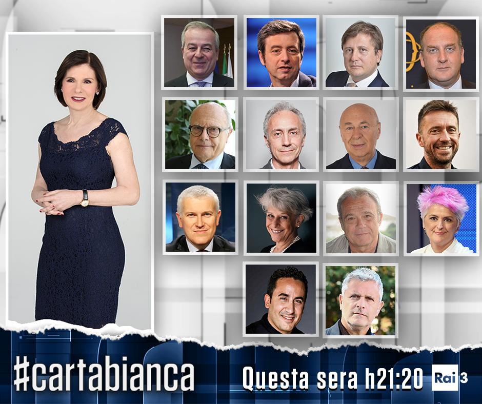 #cartabianca 22 dicembre