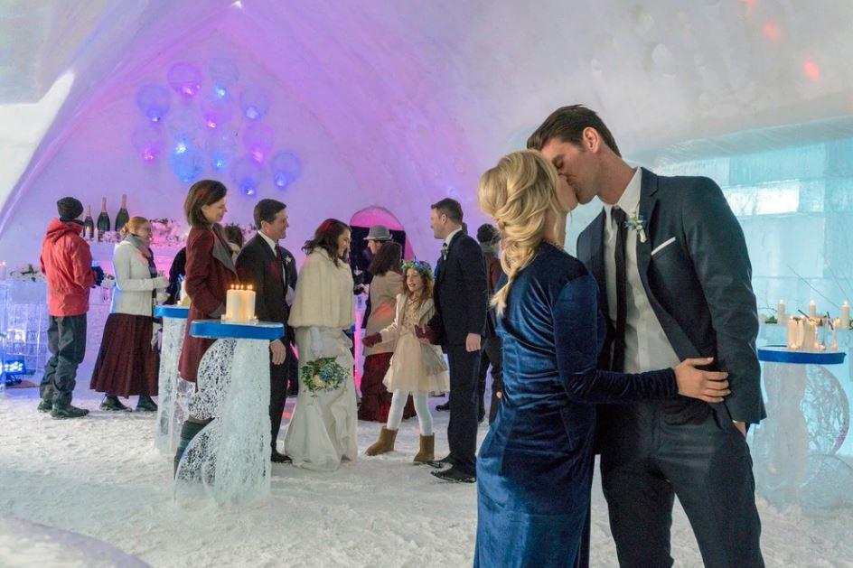 Amore nel castello di ghiaccio attori