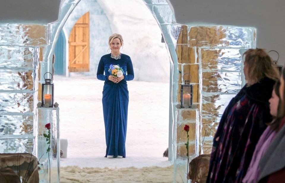 Amore nel castello di ghiaccio dove è girato