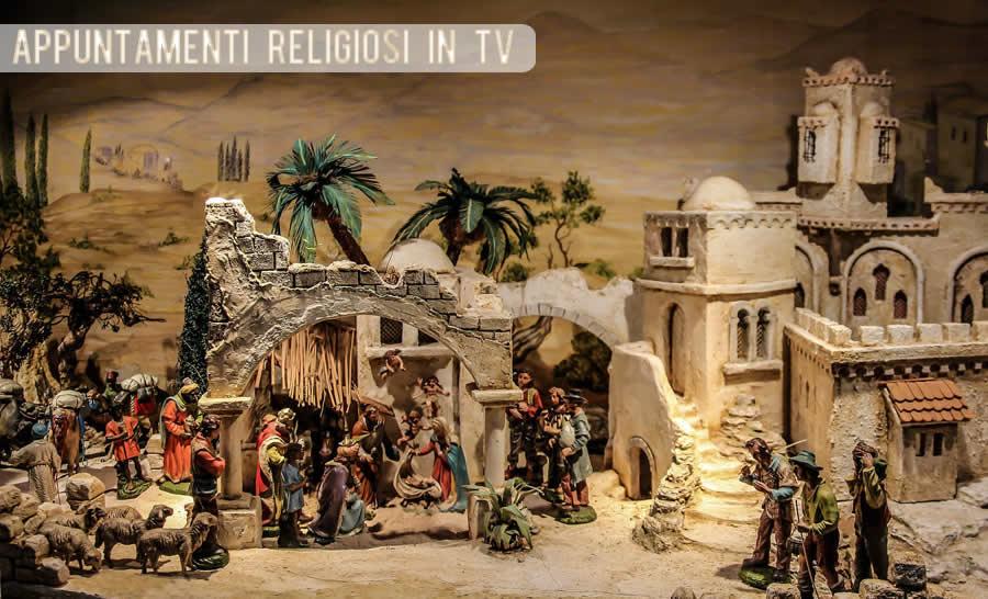 Appuntamenti religiosi in tv 2020
