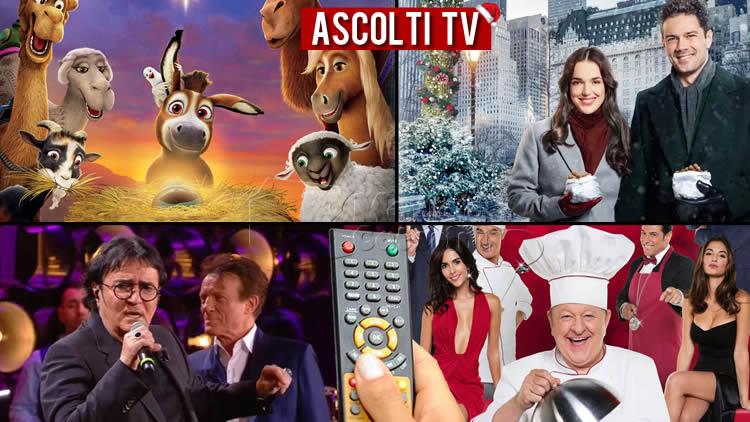 Ascolti TV venerdì 25 dicembre 2020