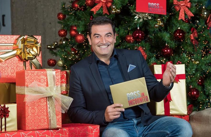 Boss in Incognito Natale con Max Giusti