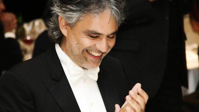 Domenica in ospiti 23 dicembre Andrea Bocelli