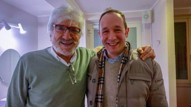 Gigi Proietti il nostro ricordo Pietro Romano con Gigi Proietti