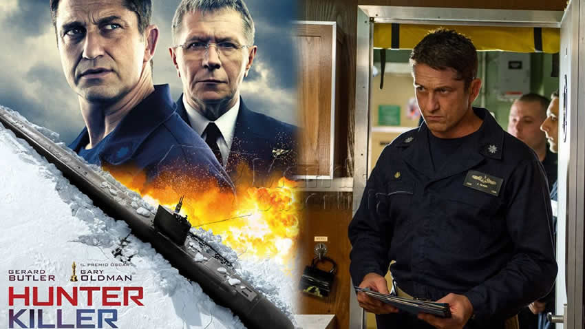 Hunter Killer Caccia negli abissi film Rai 4