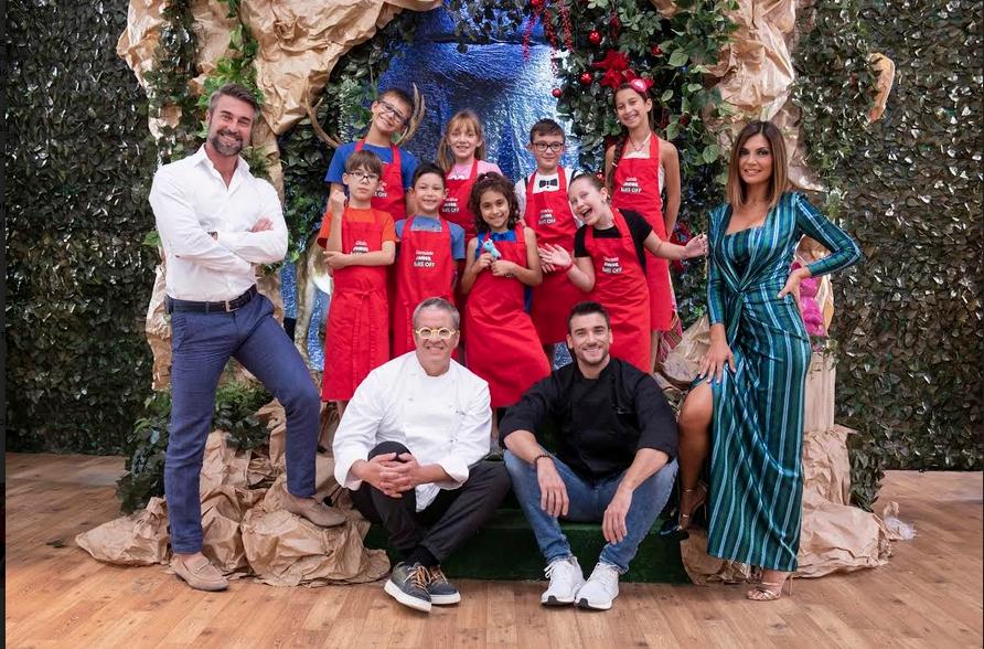 Junior Bake off Italia 2020 cast