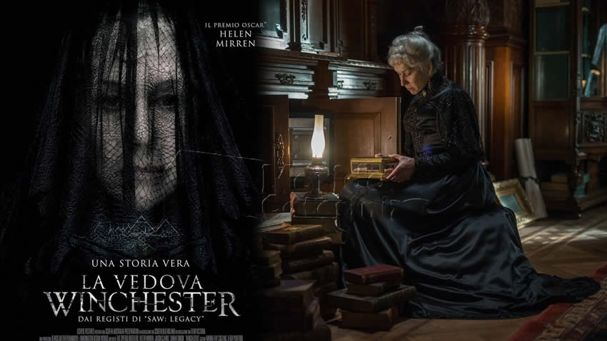 La vedova Winchester film Rai 4