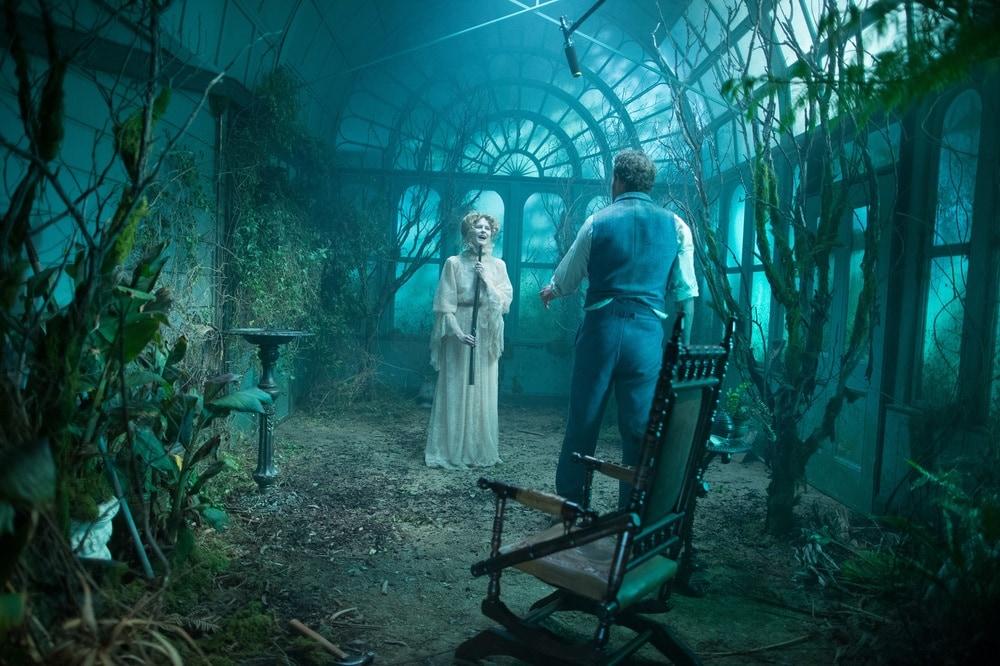 La vedova Wincester film dove è girato