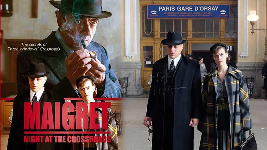 Maigret Il crocevia delle tre vedove film Paramount Network