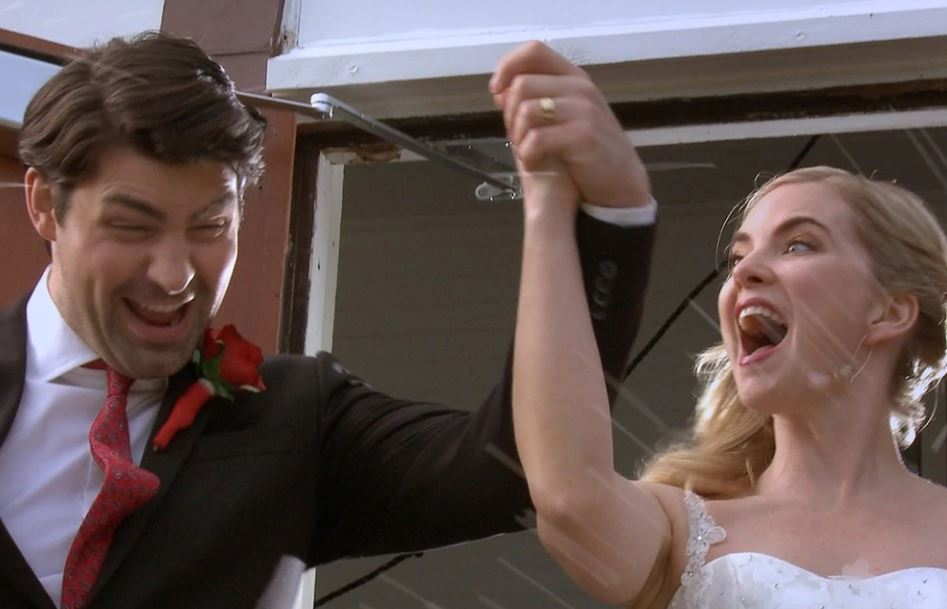 Se scappo mi sposo a Natale film attori