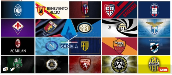 Serie A undicesima giornata