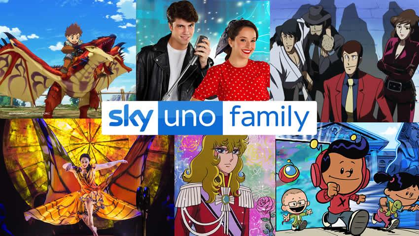Sky Uno Family 2021 programmazione