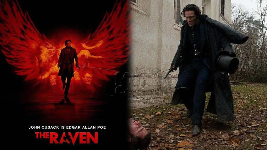 The Raven film Mediaset Italia 2