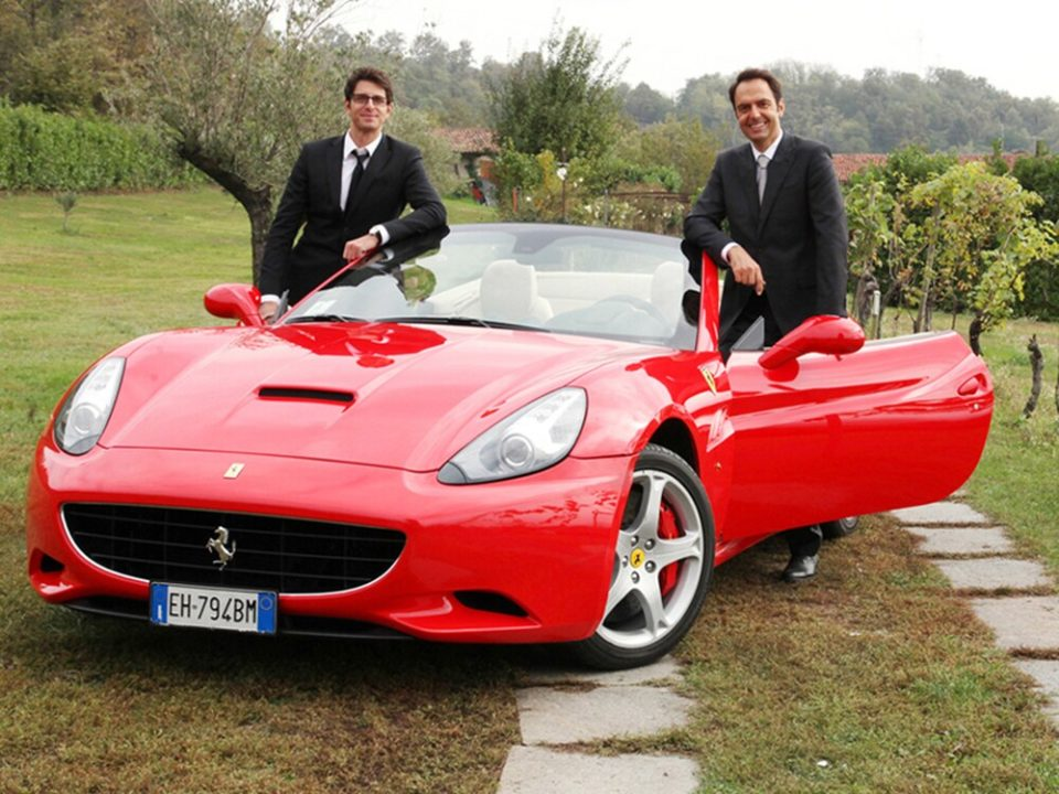 Una Ferrari per due film Rai Premium