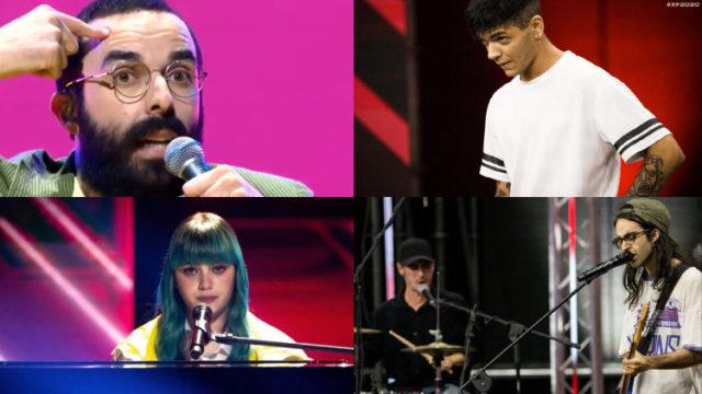 X Factor 2020 Finale quattro concorrenti finalisti