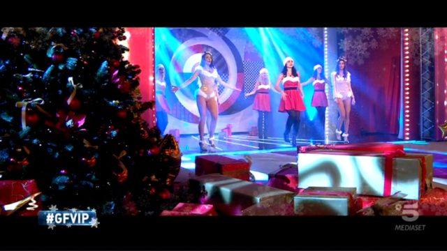 GF Vip 5 puntata 18 dicembre balletto