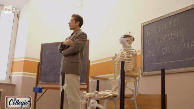 il collegio 15 dicembre scheletro