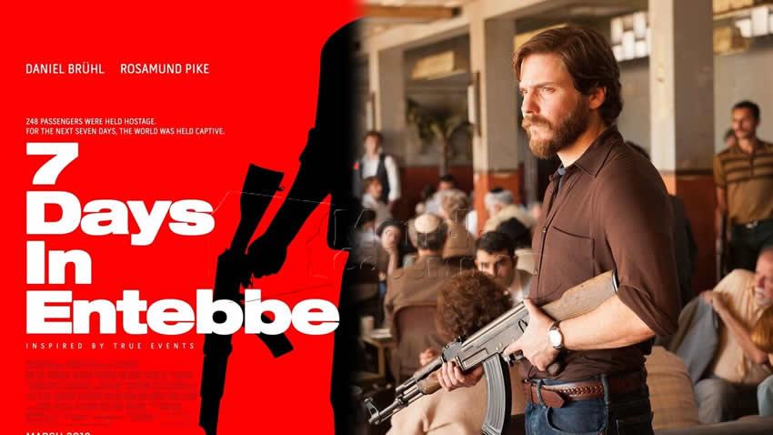 7 giorni a Entebbe film Rai 4