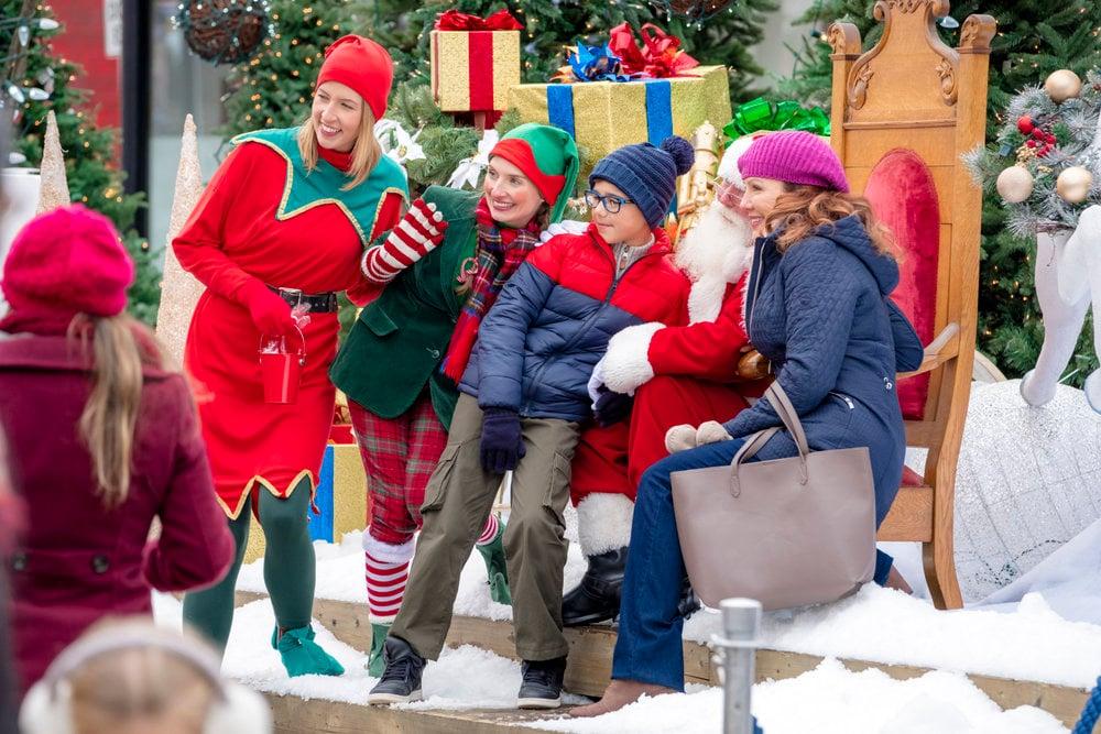 Il miracolo di Natale di Maggie film attori