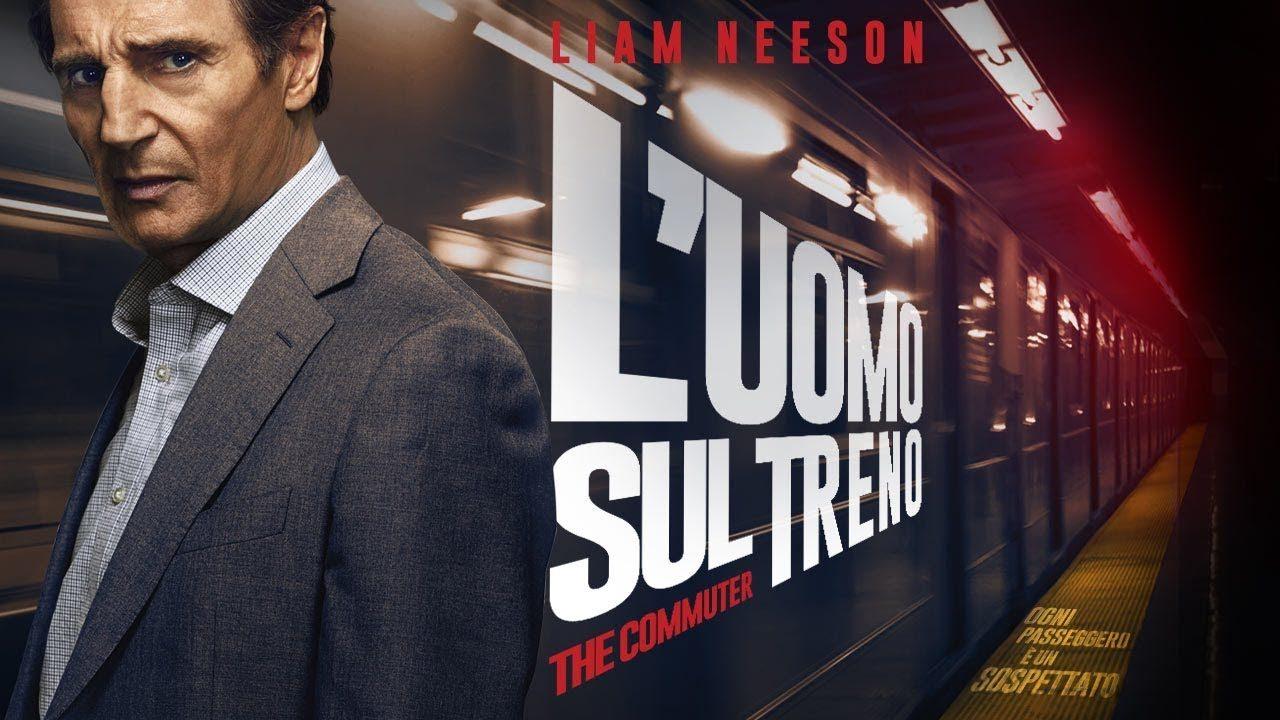 L'uomo sul treno The Commuter film copertina