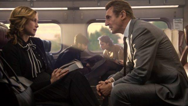 L uomo sul treno The Commuter protagonista