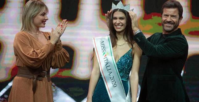 Martina Sambucini intervista Miss Italia 2020