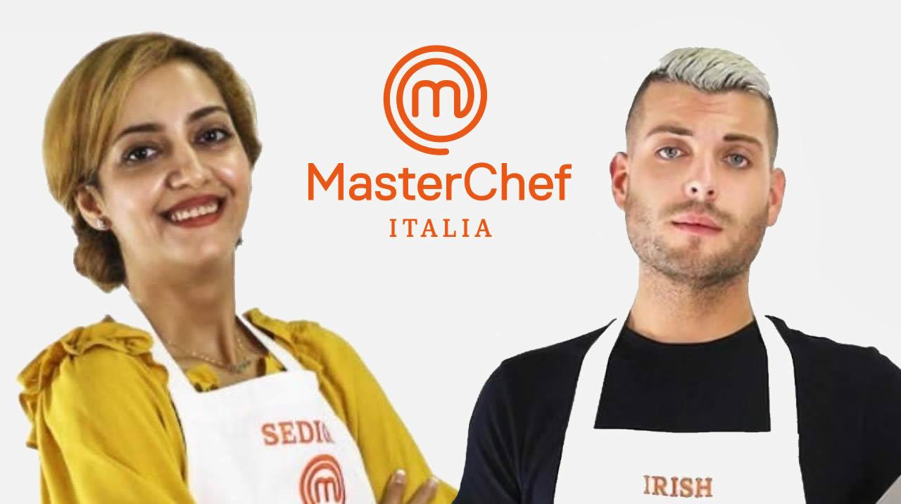 MasterChef Italia 10 Irish e Sedighe intervista