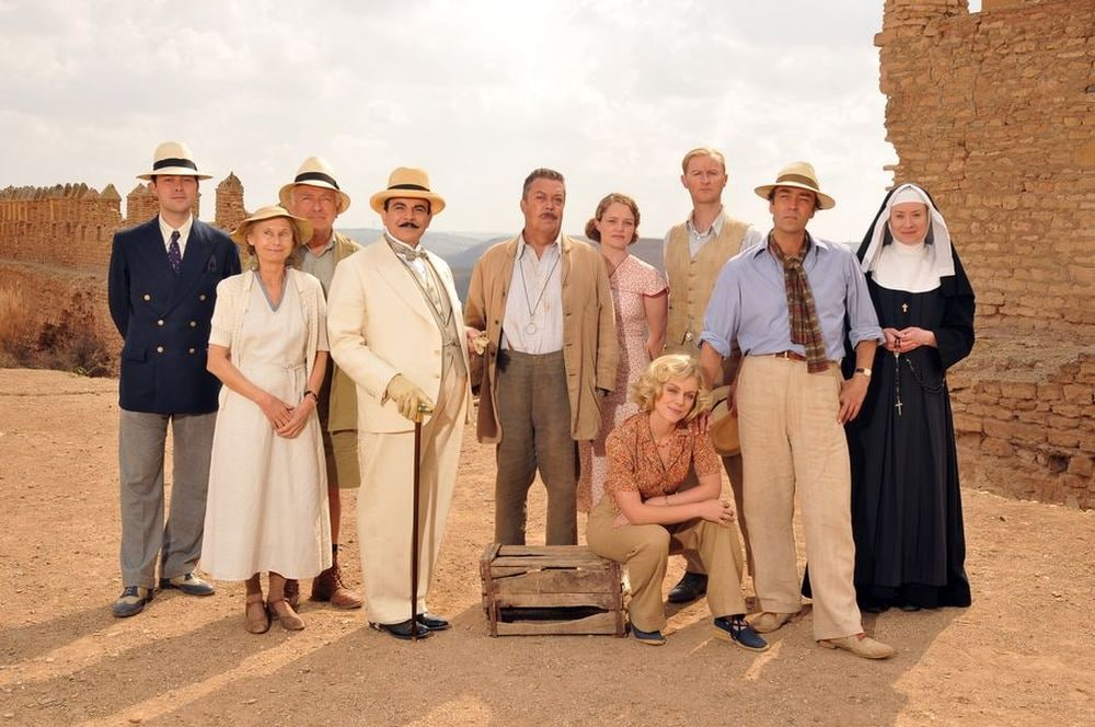 Poirot la domatrice film attori
