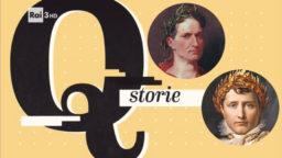 Quante Storie Rai 3 Napoleone e Giulio Cesare