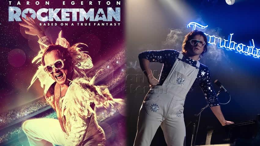 Rocketman film Canale 5