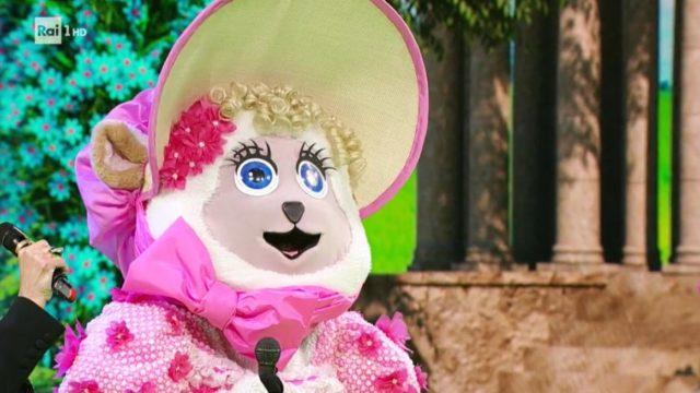 il cantante mascherato pecorella