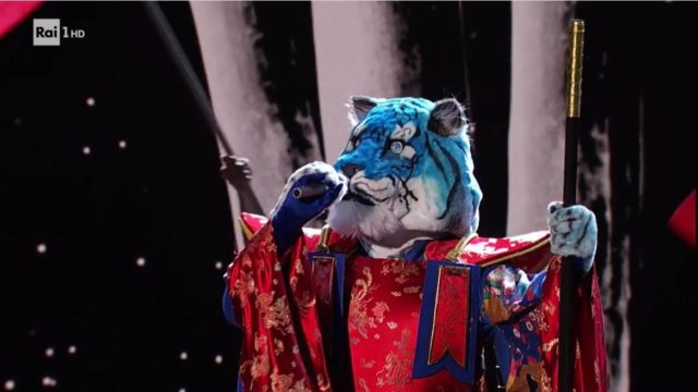il cantante tigre azzurra