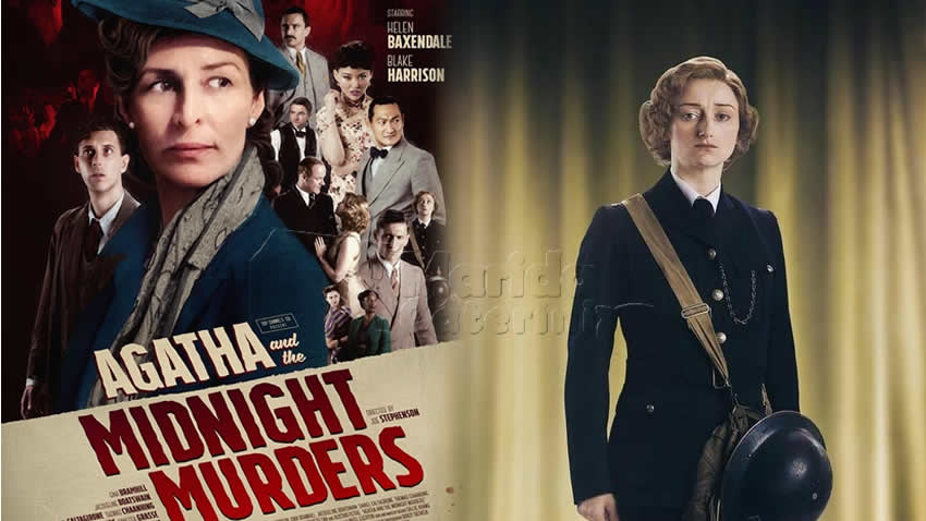 Agatha e gli omicidi di mezzanotte film Paramount Network
