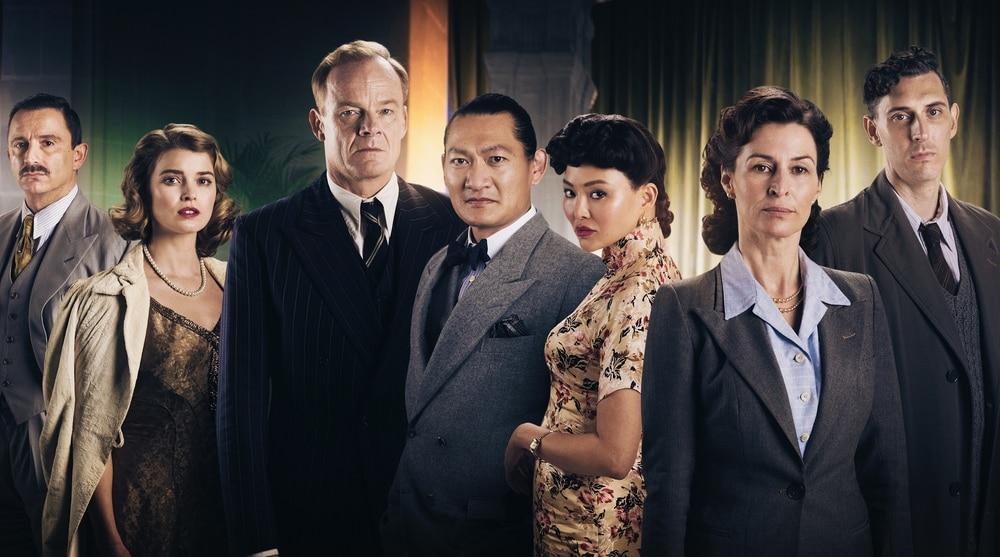 Agatha e gli omicidi di mezzanotte film dove è girato