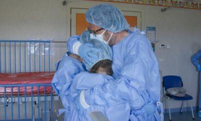 Dottori in corsia reparto covid